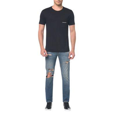 Calça Jeans Five Pocktes Slim Ckj 026 Slim - Azul Claro
