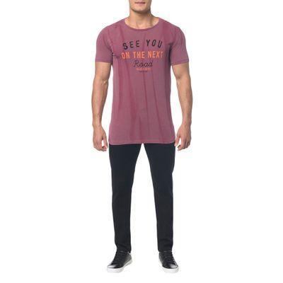 Camiseta Masculina See You Bordô Calvin Klein Jeans