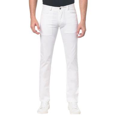 Calça Mas  Color 5 Pockets - Branco