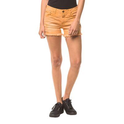 Shorts Color Five Pockets - Mostarda