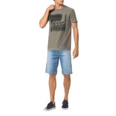 Camiseta Masculina Free Style Masters Oliva Calvin Klein Jeans