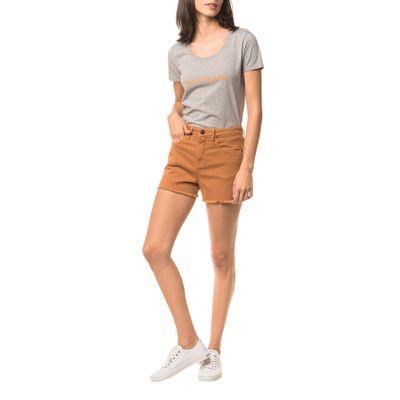 Shorts Color Five Pockets - Havana