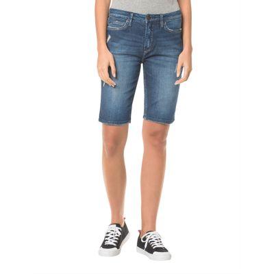 Bermuda Jeans Five Pockets - Marinho