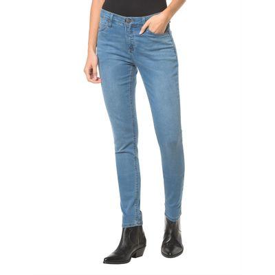 Calça Jeans Five Pockets Ckj 001 Super Skinny - Azul Médio
