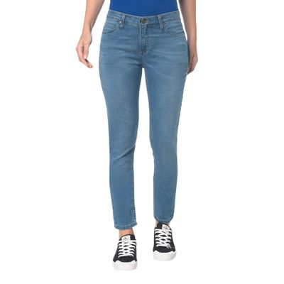 Calça Jeans Five Pockets Ckj 040 High Rise Flare - Marinho