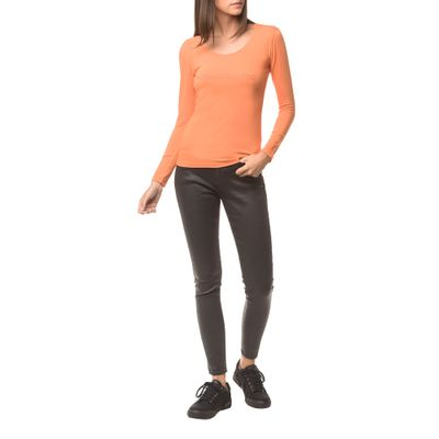 Calça Jeans Five Pockets Ckj 001 Super Skinny - Preto