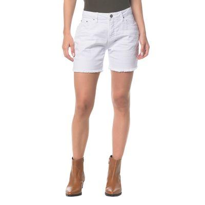 Bermuda Color Five Pockets - Branco