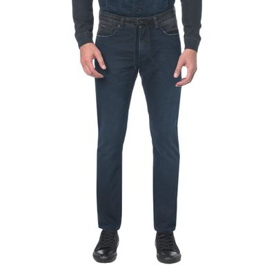 Calça Jeans Five Pockets Ckj 056 Athletic Taper - Marinho