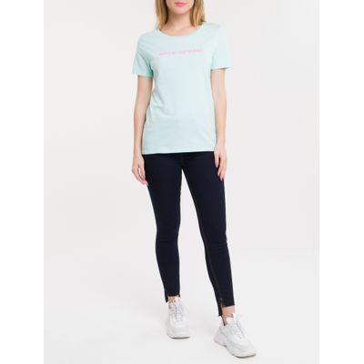 Calça Jeans Five Pockets Ckj 001 Super Skinny - Azul Marinho