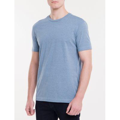 Camiseta Regular Poster - Azul Claro