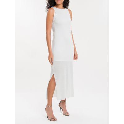 Regata Longa Tricot Calvin Klein - Branco
