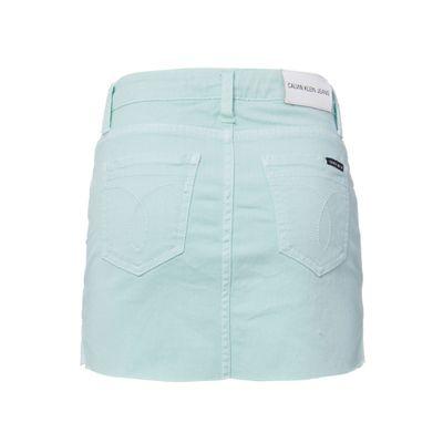 Saia Color Fraldada Five Pockets - Verde Claro