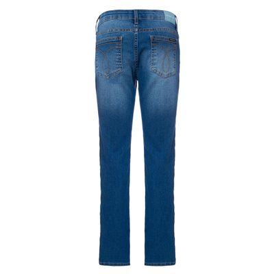 Calça Jeans Five Pockets Skinny - Azul Claro