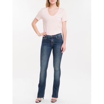 Calça Jeans Five Pockets Ckj 042 Kick Flare