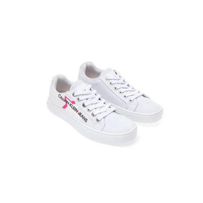 Tênis Ckj Girl Básico Est Estrela Logo - Branco