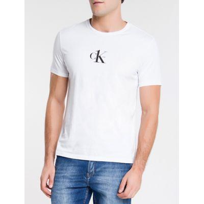 Camiseta Masculina CK One Branca Calvin Klein Jeans