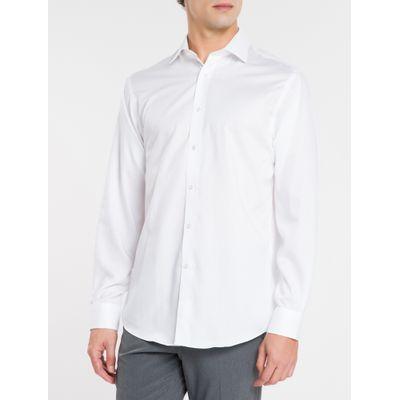 Camisa Regular Masculina Branca