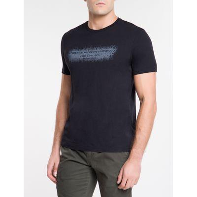 Camiseta Ckj Mc Status Quo - Preto
