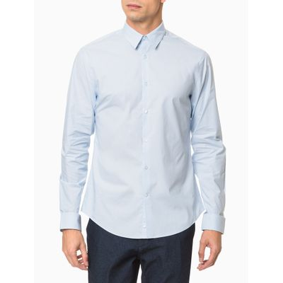 Camisa Mg Longa Masculina Listrada