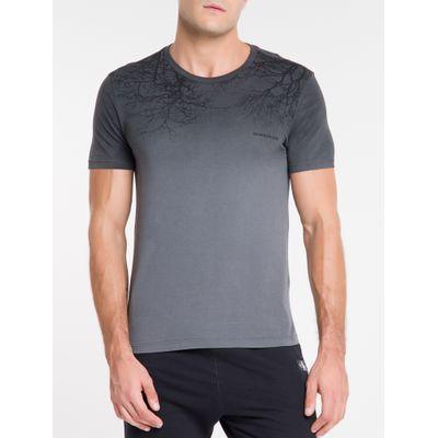 Camiseta Masculina Forest Chumbo Calvin Klein Jeans