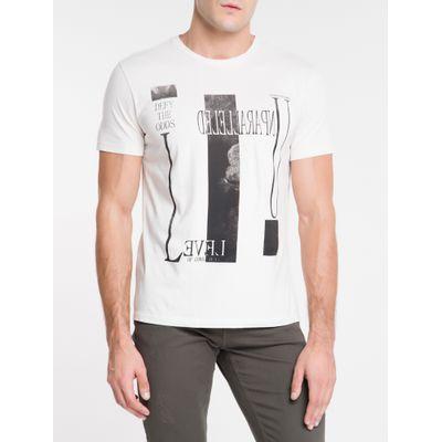 Camiseta Masculina Unparalleled Areia Calvin Klein Jeans