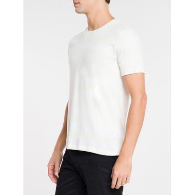 Camiseta Masculina Listras Natural
