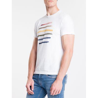Camiseta Mc Comfort Silk Genderless Prid - Branco