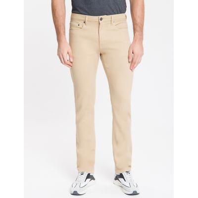 Calça Color Five Pockets Slim - Caqui Claro