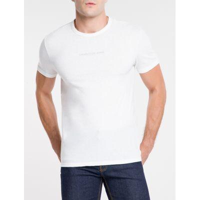 Camiseta Masculina Básica Sustainable Nude Calvin Klein Jeans