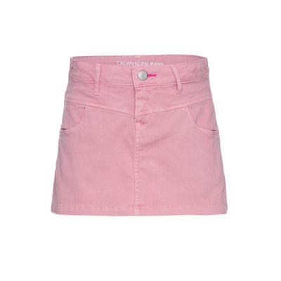 Shorts Saia C Rec Frontal - Rosa Médio
