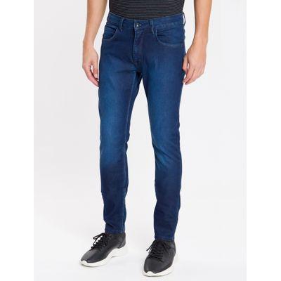 Calça Jeans Five Pockets Super Skinny - Marinho
