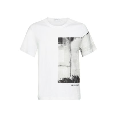 Camiseta Ckj Mc Photo Print - Branco