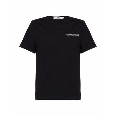 Camiseta Ckj Mc Chest Logo - Preto