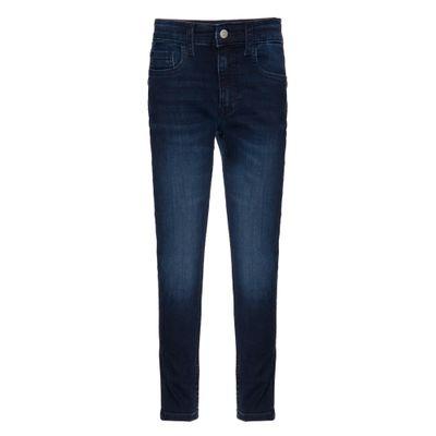 Calça Jeans Five Pockets Tapered - Marinho