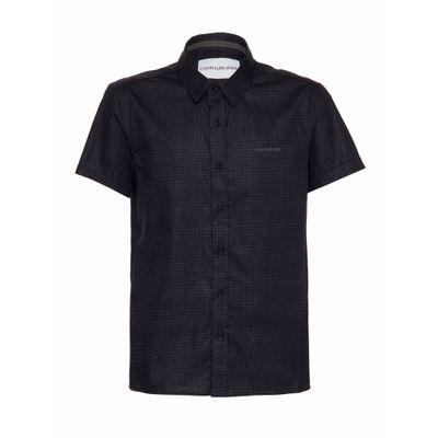 Camisa Mc Reg Micro Exclu S Bols N/D - Preto