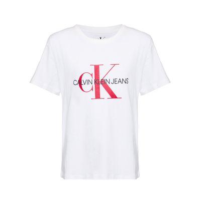 Camiseta Ckj Mc Monogram - Branco