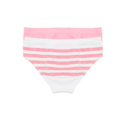 Calcinha Boneca Sem Costura Infantil Calvin Klein Underwear Rosa Claro