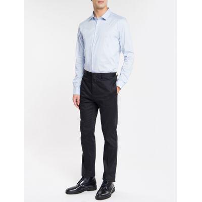 Camisa Slim Cannes Toque Suave - Azul Claro