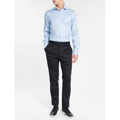 Camisa Básica Slim Fit Iron Com Elastano - Azul Claro