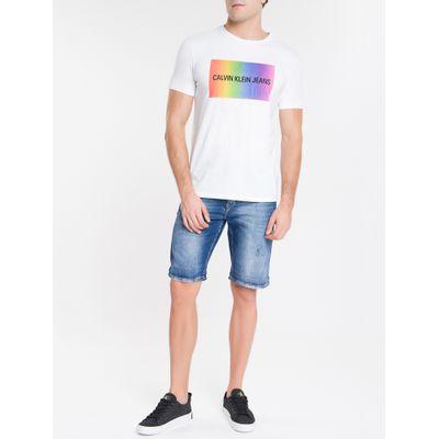 Camiseta Masculina Pride Branca Calvin Klein Jeans