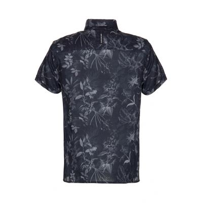 Camisa Mc Ckj Estampa Floral Inverno Com - Preto