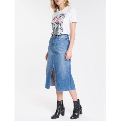 Blusa Feminina Be Bold Branca Calvin Klein Jeans