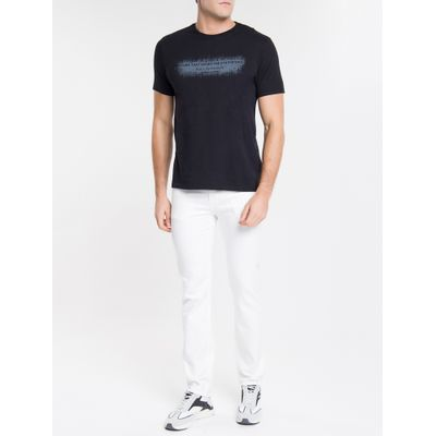 Calça Color Five Pockets Slim - Branco