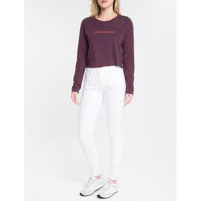 Calça Color Five Pockets Super Skinny - Branco