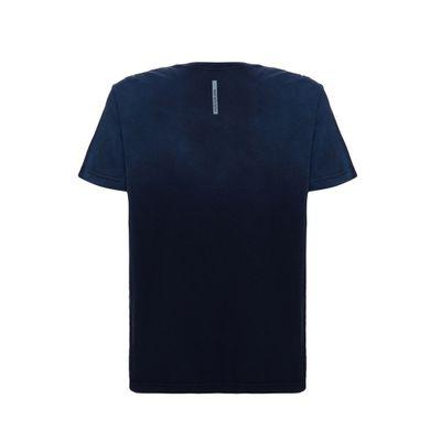 Camiseta Mc Regular Logo Meia Jato Gc - Indigo