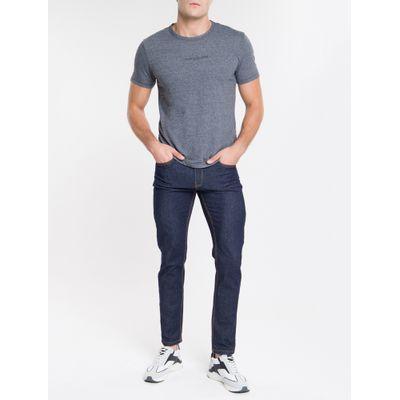 Camiseta Masculina Básica Sustainable Preta Calvin Klein Jeans