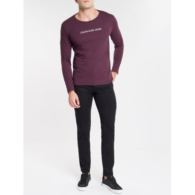 Calça Color Five P Slim Sarja Reat - Preto