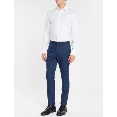 Camisa Mg Longa Masculina Branca