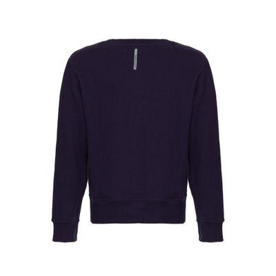 Casaco Circ Ml Institucional Sweatermret - Marinho