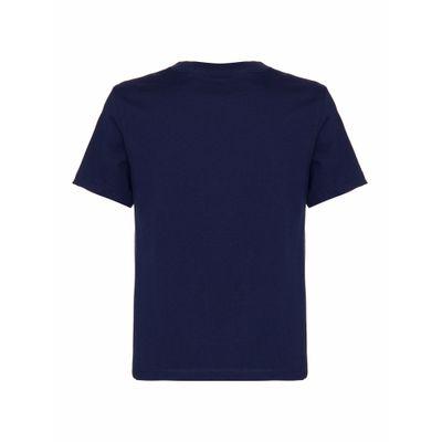 Camiseta Ckj Mc Chest Logo - Marinho